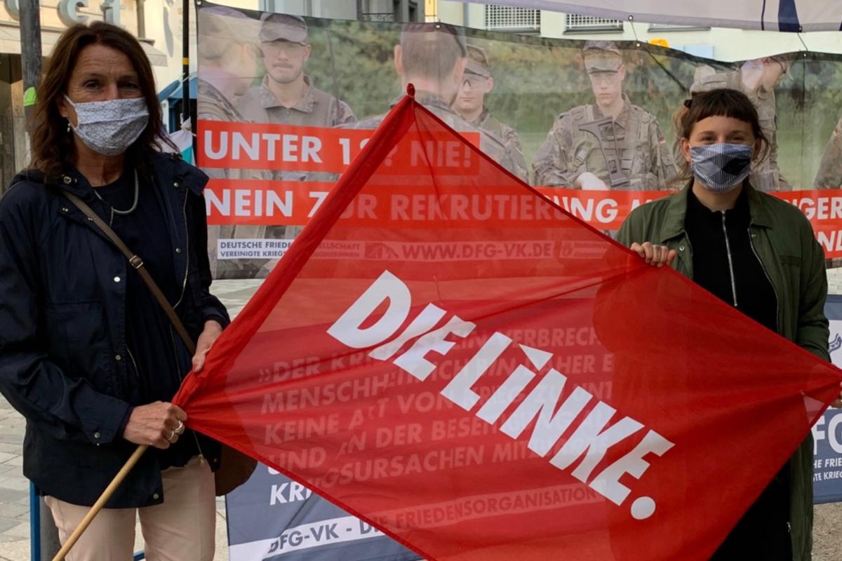 Stadträt:Innen on Tour – Antikriegstag 2020 in Schweinfurt
