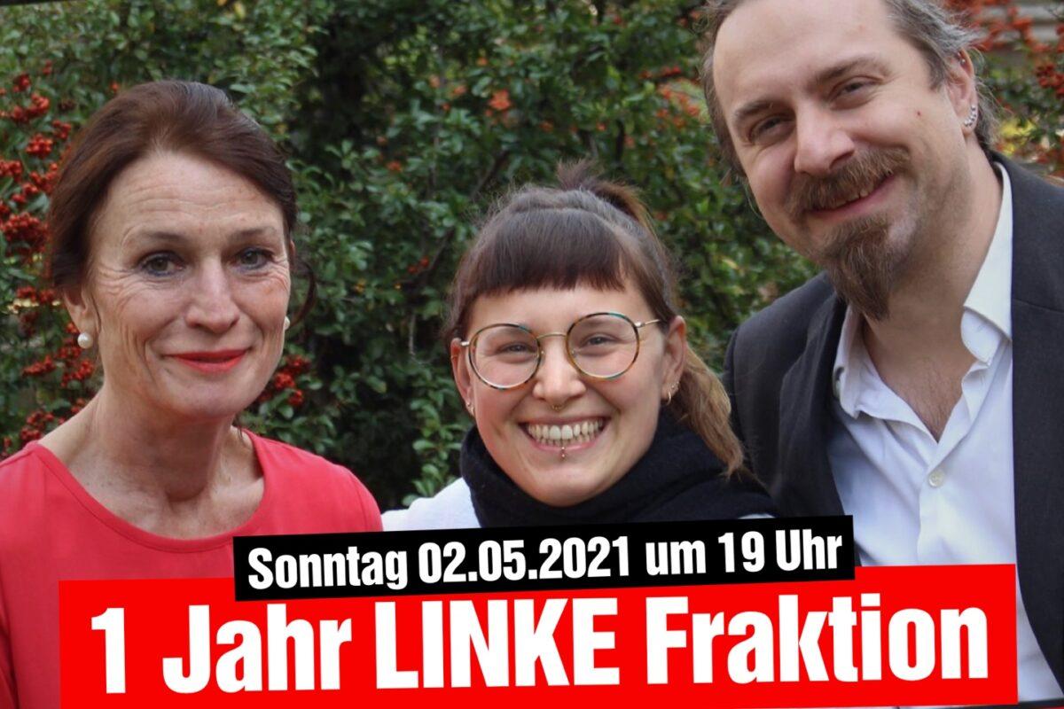 1 Jahr LINKE Fraktion- Eine Zwischenbilanz